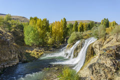 Van Muradiye Waterfalls Stockbild