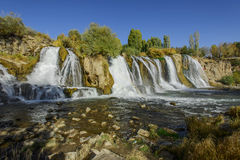 Van Muradiye Waterfalls Stockbilder