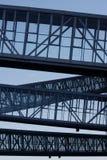 Van Nelle bridges Stock Photography