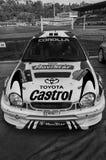 Van nelvecchio van TOYOTA COROLLA WRC 1998 van radunodella van vetturada corsala LEGGENDA 2017 stock afbeeldingen