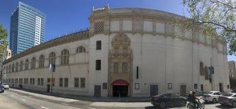 25 Van Nes Av, van Vrijmetselaars- Tempel aan stadsbureaus, het onder ogen zien van het Oosten Royalty-vrije Stock Foto