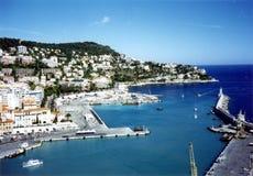 Van Nice (Frankrijk) de haven Stock Afbeelding