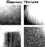 Van Nice zwarte textuur als achtergrond EPS 10 vector illustratie