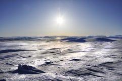 Van Noord- Lapland Zweden Stock Foto
