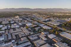 Van Nuys California Afternoon Aerial Royalty Free Stock Image
