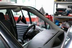 Van ohne Windschutzscheibe lizenzfreies stockbild