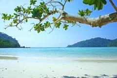 Van overzeese het eiland Thailand strandsurin Royalty-vrije Stock Afbeelding