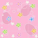 Van Pasen naadloos patroon als achtergrond vector illustratie