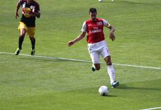 Van Persie in Emirates Cup '11 Stock Photos