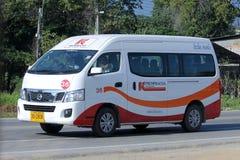 Van of Prempracha Transport Company Royalty Free Stock Photography