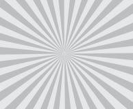 Van Ray retro grijze gekleurde modieuze stralen als achtergrond Stock Afbeeldingen