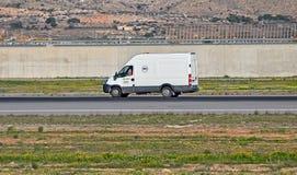 Van On The Runway Photo libre de droits