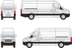 Van-3 samochodowy ilustracyjny wektor Zdjęcia Stock