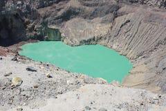 Van Santa Ana (Ilamatepec) de vulkaan, El Salvador Royalty-vrije Stock Fotografie