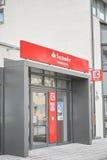 Van Santander de Bank Van de consument Stock Foto