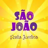 Van Saojoalo Carnaval Brazilië van Festajunina het Festival Porto vector illustratie