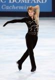 Van Sergei VORONOV (RUS) het vrije schaatsen stock fotografie