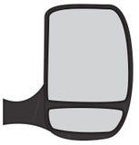 Van Side Mirror Fotografia Stock Libera da Diritti