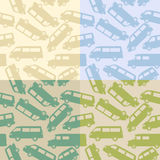 Van silhouettes Stock Photo