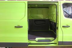 Van Sliding Door Royalty Free Stock Images