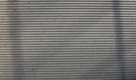 Van staal horizontale strepen textuur als achtergrond stock afbeeldingen