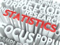 Van statistieken Conceptueel Ontwerp Als achtergrond. Royalty-vrije Stock Foto