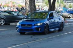 Van Subaru van Impreza Wrx- STI Stock Foto's