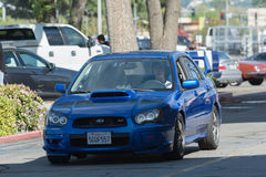 Van Subaru van Impreza Wrx- STI Royalty-vrije Stock Afbeeldingen