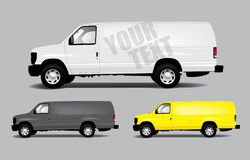 Van template Royalty Free Stock Photography