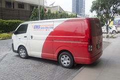 Van Thailand postal Photographie stock