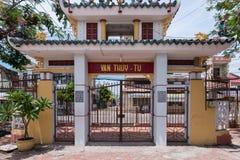Van Thuy ναός φαλαινών TU †«ιερός, Phan Thiet, Βιετνάμ Στοκ φωτογραφία με δικαίωμα ελεύθερης χρήσης