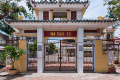 Van Thuy Tu – Sacred Whale Temple , Phan Thiet, Vietnam Royalty Free Stock Photo