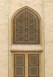 Van tralies voorzien vensters Stock Afbeelding