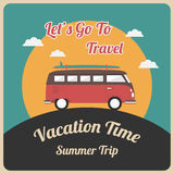 Van travel Stock Photography