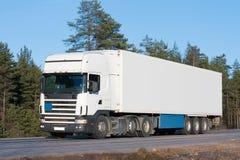 Van truck royalty-vrije stock afbeelding