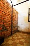 Van Tuolsleng (S21) de Gevangenis, Phnom Penh Royalty-vrije Stock Foto