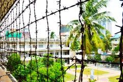 Van Tuolsleng (S21) de Gevangenis, Phnom Penh Royalty-vrije Stock Foto's
