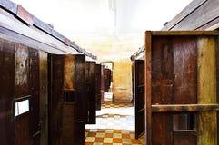 Van Tuolsleng (S21) de Gevangenis, Phnom Penh Stock Foto's