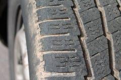 Van tyre Royalty Free Stock Photo