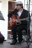 Van van prestatieskunstenaars, zangers en musici de vocaal-instrumentale band van de ensemble shoobedoobe jazz Royalty-vrije Stock Foto