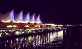 Van Vancouver Canada Place stock foto