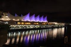 Van Vancouver Canada Place Stock Afbeeldingen