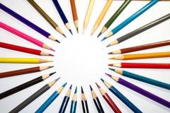 Van vid målarfärg för brevpapper konsten arkivbilder