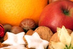 Van vruchten de noten ?n? sterren Stock Foto's