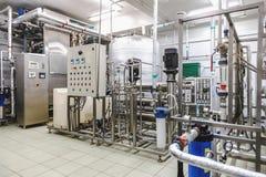 Van water het conditioneren of destilation ruimte royalty-vrije stock foto