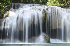 时代van waterfall 免版税图库摄影