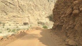 Van weg in Oman stock video