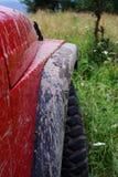 Van wegauto Stock Afbeeldingen