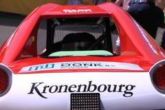 Van wegraceauto stock foto's