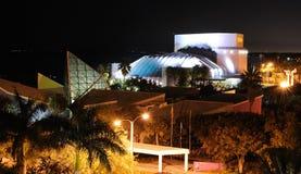 Van Wezel Performance Art Hall. At night in Sarasota, Florida Royalty Free Stock Images